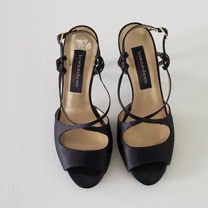Town Shoes Black Heels Size 8.5
